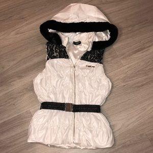 Bebe Ice White Vest ❄️☃️